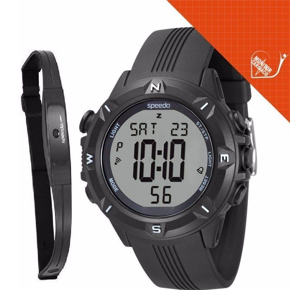 51b48c56bb0 Relogio Masculino Speedo Digital Monitor Cardiaco - 58009g0evnp1 - Preto  Produto não disponível