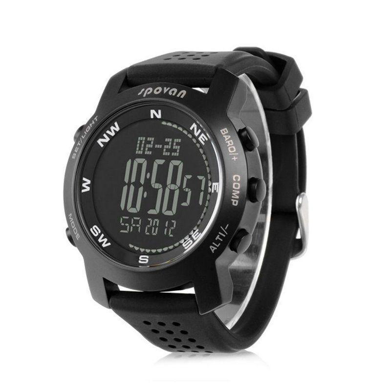 df0d2822688 Relógio Masculino Spovan Digital Bravo Preto - Relógio Masculino ...