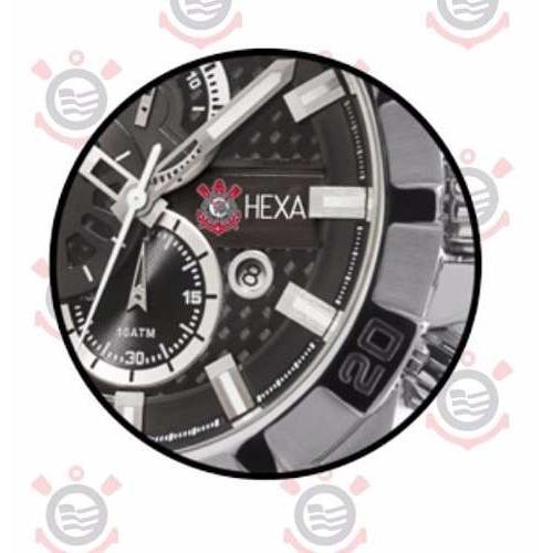 0b1311a2646 Relógio Masculino Technos Analógico Casual Edição especial Hexa Corinthians  Os1aaq ct Produto não disponível