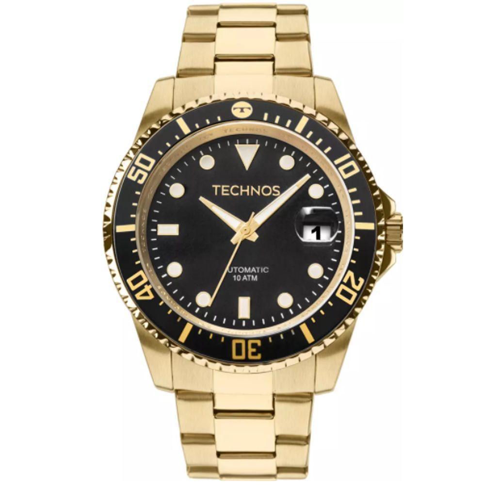 6e36b9c88aa2a Relógio Masculino Technos Automatic 8205NY 4P Dourado - Mormaii Produto não  disponível
