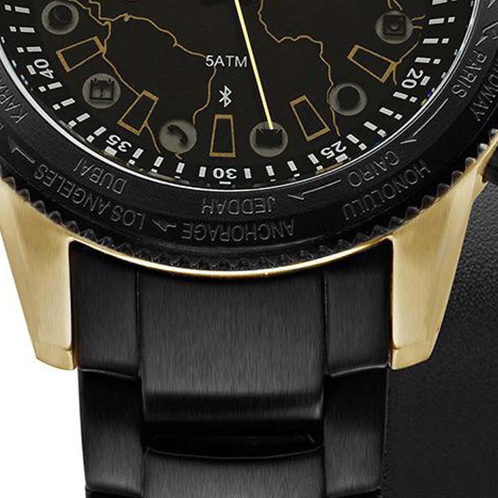 b871ba01d59 Relógio Masculino Technos Connect Analógico Casual 753AA 4P - Preto Dourado  Produto não disponível