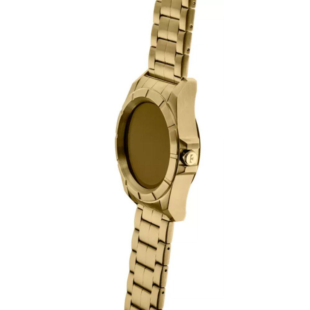 c7119f6e0a792 Relógio Masculino Technos Connect Smartwatch SRAB 4P Dourado R  872