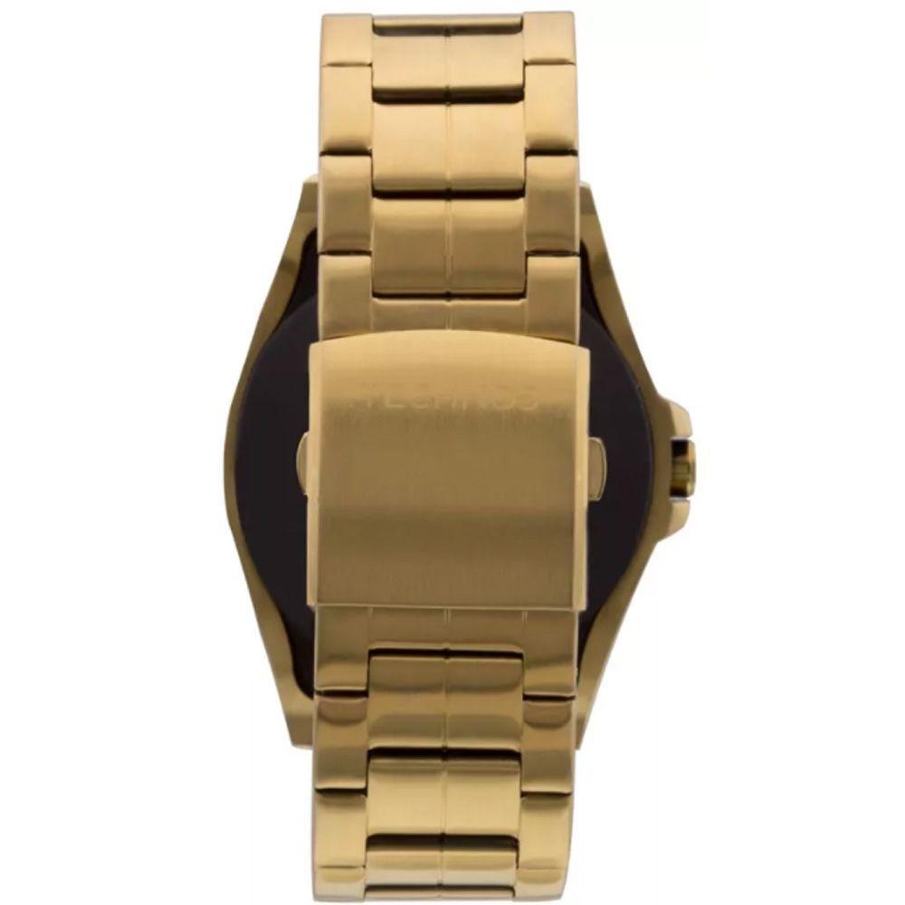 64dfe0be2e1 Relógio Masculino Technos Connect Smartwatch SRAB 4P Dourado R  872