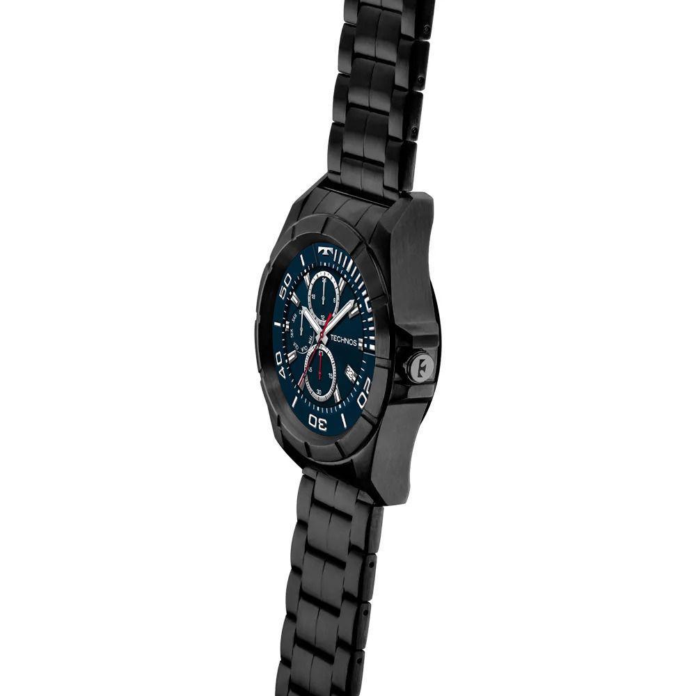 3689bb2c5f119 Relógio Masculino Technos Connect Smartwatch SRAC 4P Preto Produto não  disponível