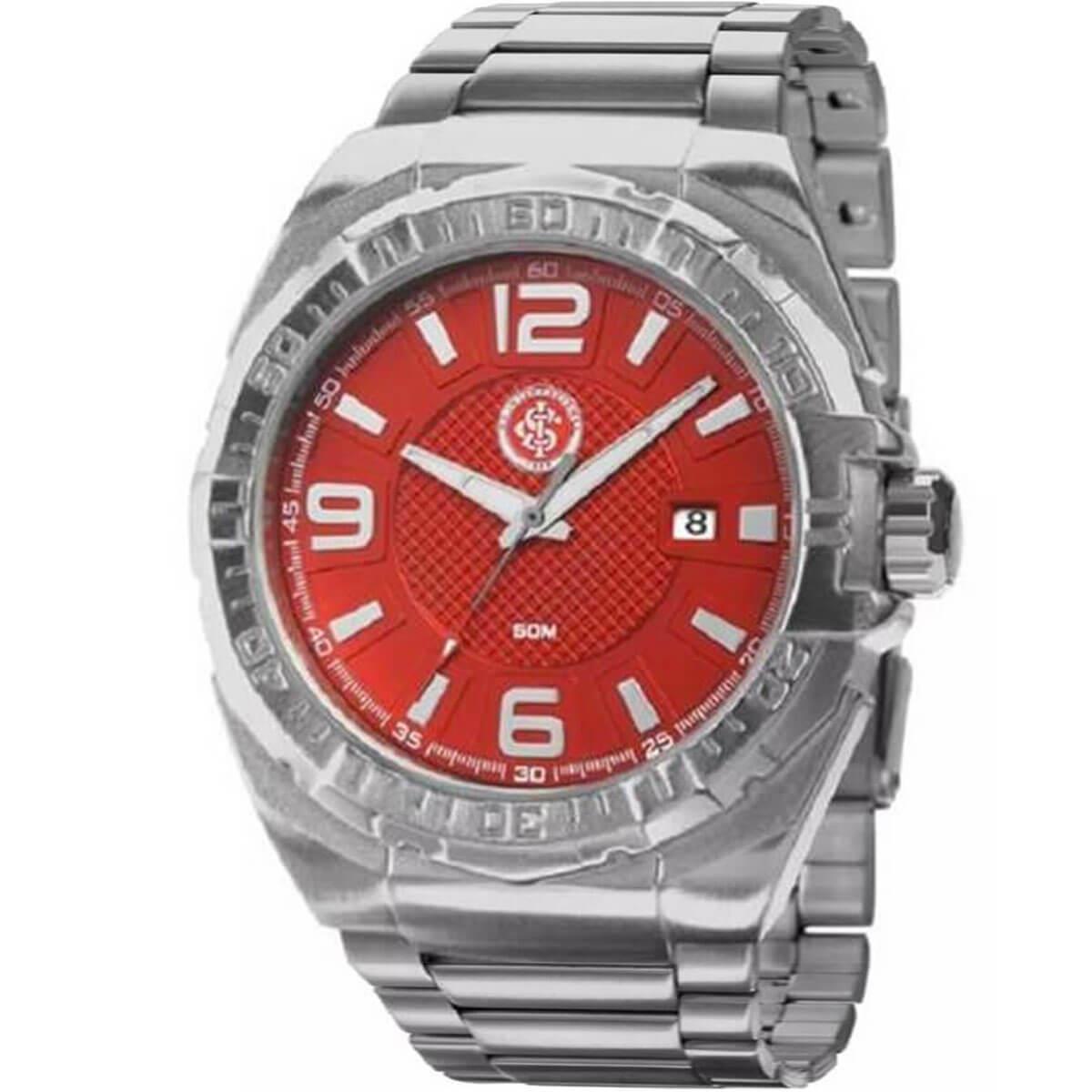 f72c146a276 Relógio Masculino Technos Internacional INT2315AB 3R Aço - Relógio ...