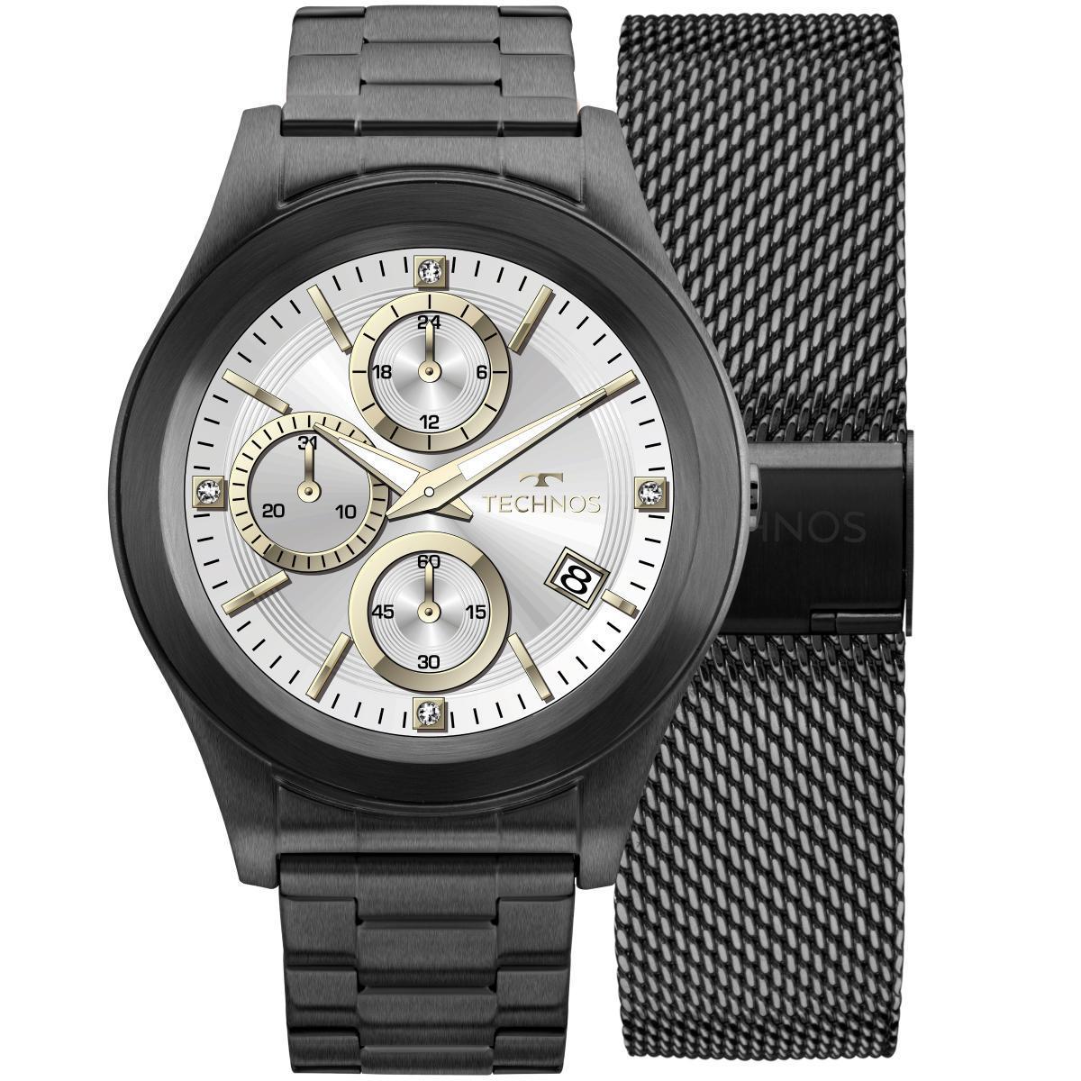 14e24615070 Relógio Masculino Technos SMARTWATCH SRAF 4P Pulseira Preta Produto não  disponível