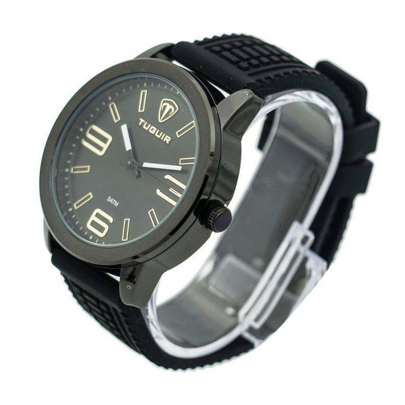 a5d1140d5a9 Relógio Masculino Tuguir Analógico 5320G Preto e Dourado - Relógio ...