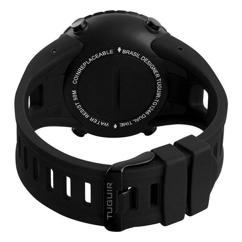 fb0ca212b0e Relógio Masculino Tuguir Digital TG1246 Preto - Relógio Masculino ...