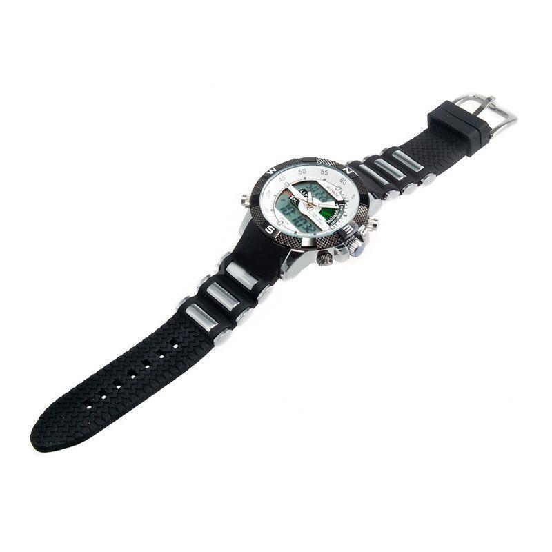 70f7b9e18e9 Relógio Masculino Weide AnaDigi Esporte WH-1104 Branco - Relógio ...