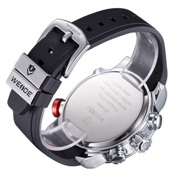 44adcd8f30d Relógio Masculino Weide Anadigi WH-3401 Preto - Relógio Masculino ...