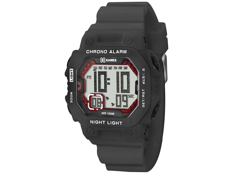 cbb7ee0a278 Relógio Masculino X-Games Digital - Resistente à Água XKPPD005