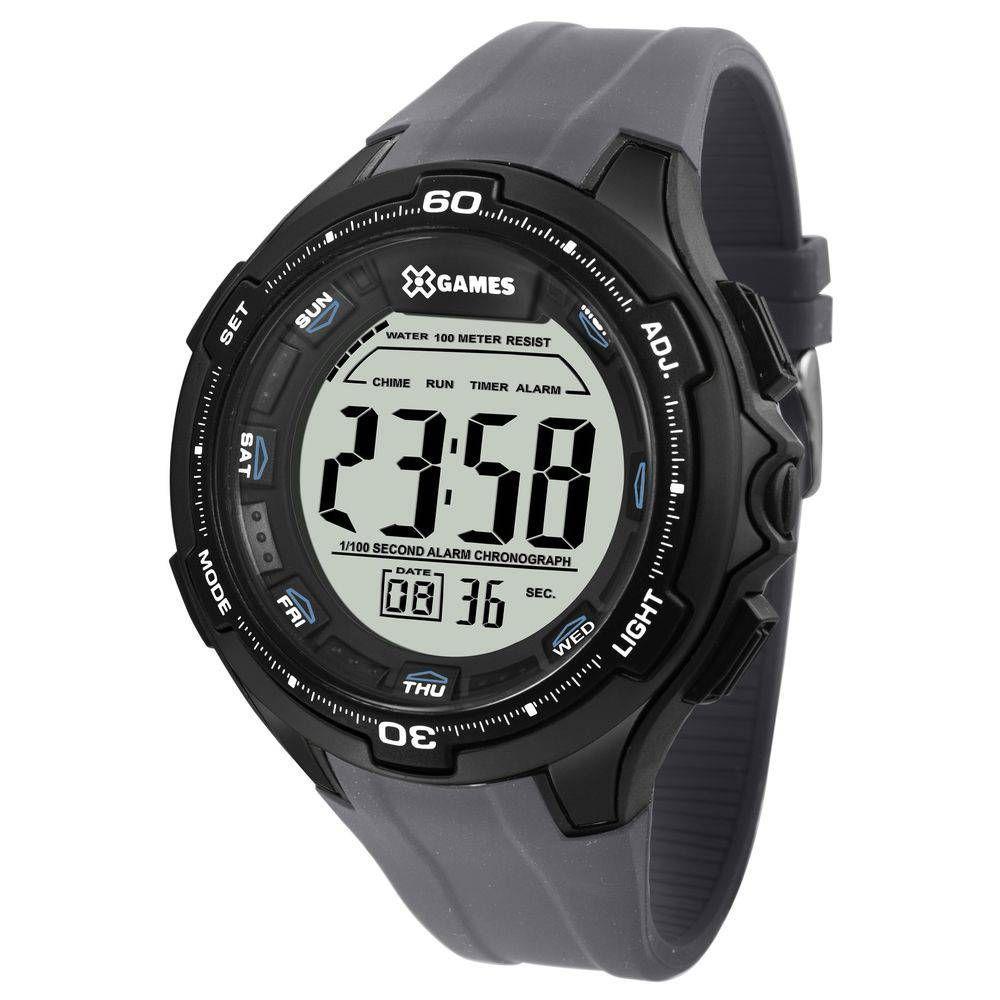 7ef4f5c10a5 Relógio Masculino X-Games Digital XMPPD466-BXQX - Cinza - Relógio ...