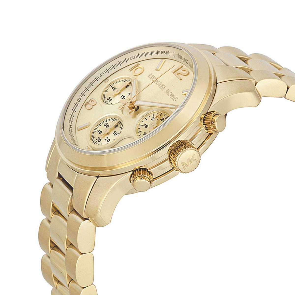 a7ffe0e7a0a75 Relogio michael kors feminino dourado mk5055 - Jjoias Produto não disponível
