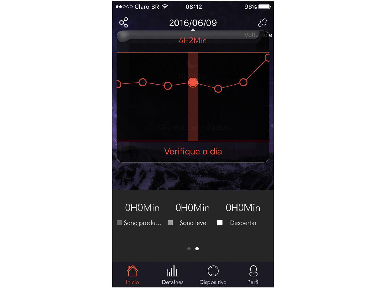 1bcf18c686a Relógio Monitor Cardíaco Easy Mobile - Ultra Smart Fitness HR Produto não  disponível