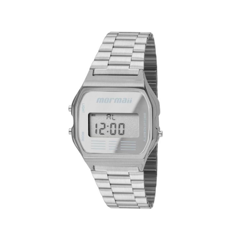 49e27c079d9 Relógio Mormaii Digital Feminino MOJH02AA3C Prata - Relógio Feminino ...