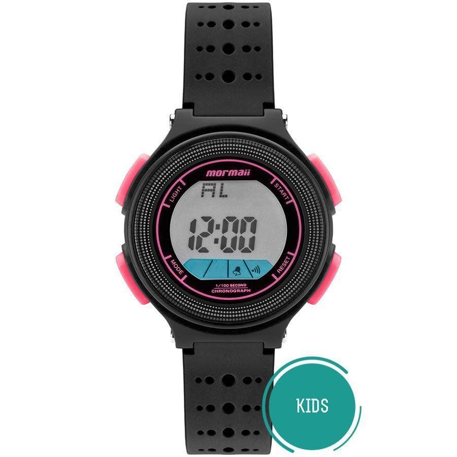 1c55c36b694e4 Relógio Mormaii Masculino Ref  Mo0974b 8t Digital Infantil Nxt R  159