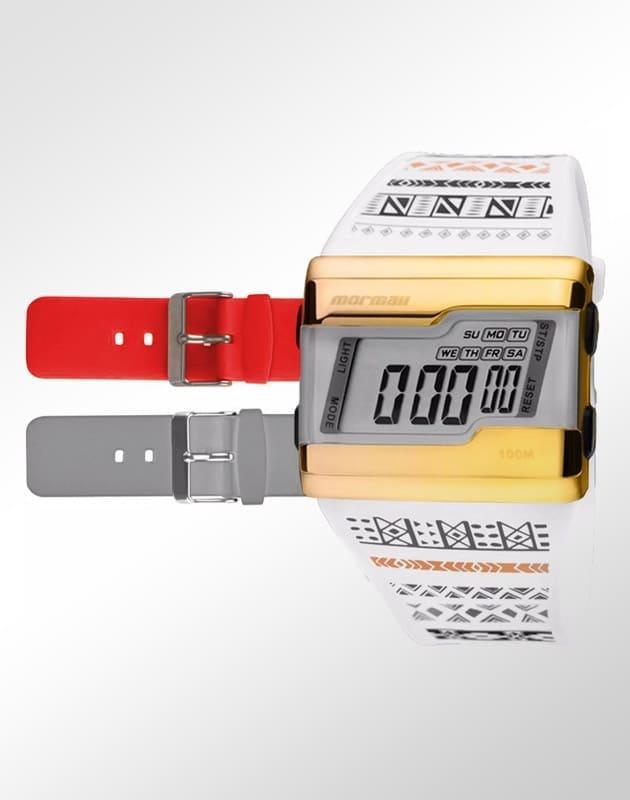 c305f1e71ae58 Relógio Mormaii Unissex Acquarela Troca Pulseiras FZV 8R R  169,90 à vista.  Adicionar à sacola