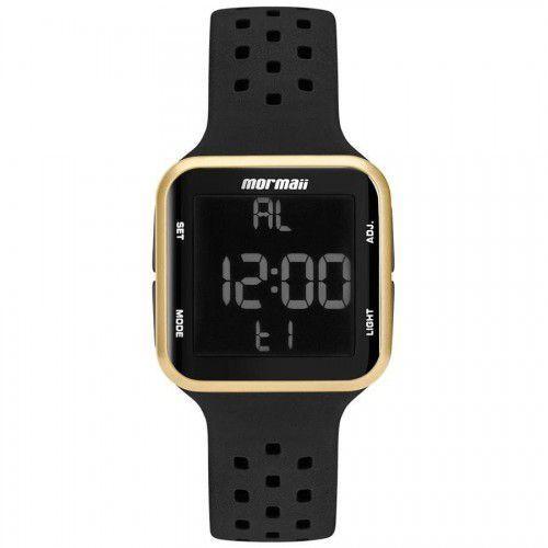 8d56f14119050 Relógio Mormaii Unissex Wave Dourado Digital MO6600 8D Produto não  disponível