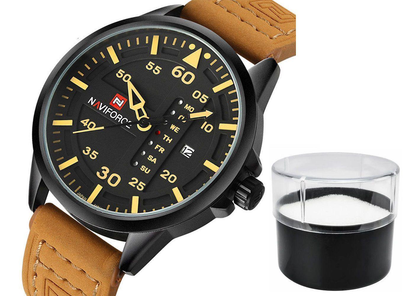 dfaa03045e1 Relogio Naviforce Luxo Lançamento Modelo 9074 - Relógios - Magazine ...