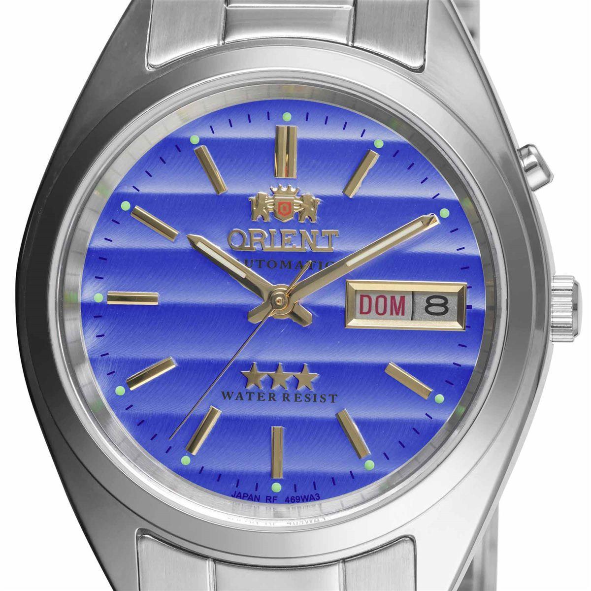 3a1892bb401 Relógio Orient Automático Analógico Classic Masculino 469WA3 A1SX R  616