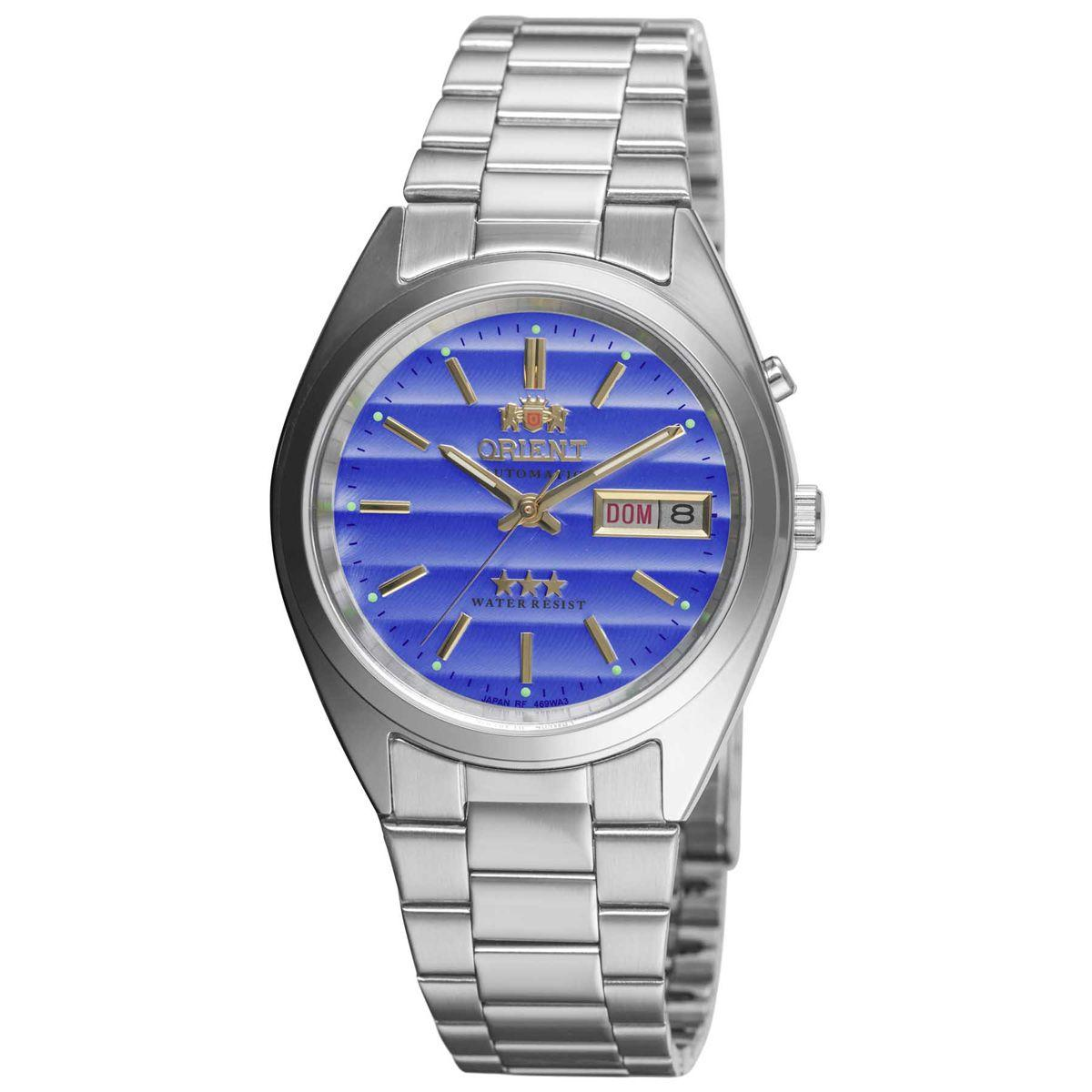 32744738f21 Relógio Orient Automático Analógico Classic Masculino 469WA3 A1SX R  616