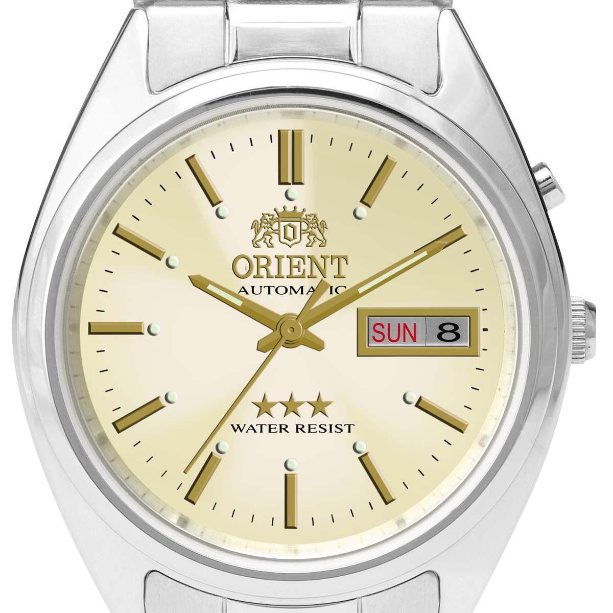 adb4121fa2e Relógio Orient Automático Analógico Classic Masculino 469WA3 C1SX R  616