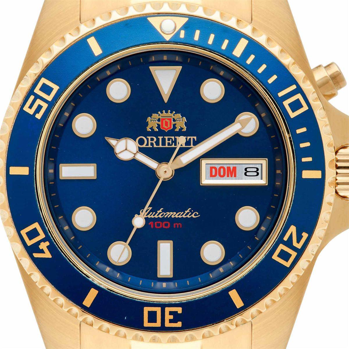 05a6ac89927 Relógio Orient Automático Masculino Analógico 469GP066 D1KX R  822