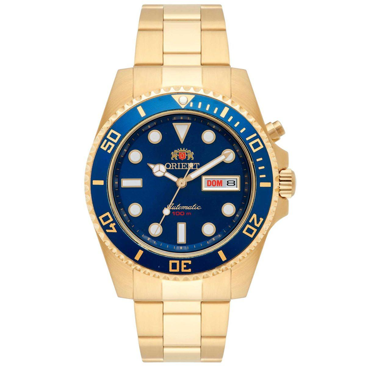 fb87153bb82 Relógio Orient Automático Masculino Analógico 469GP066 D1KX R  822