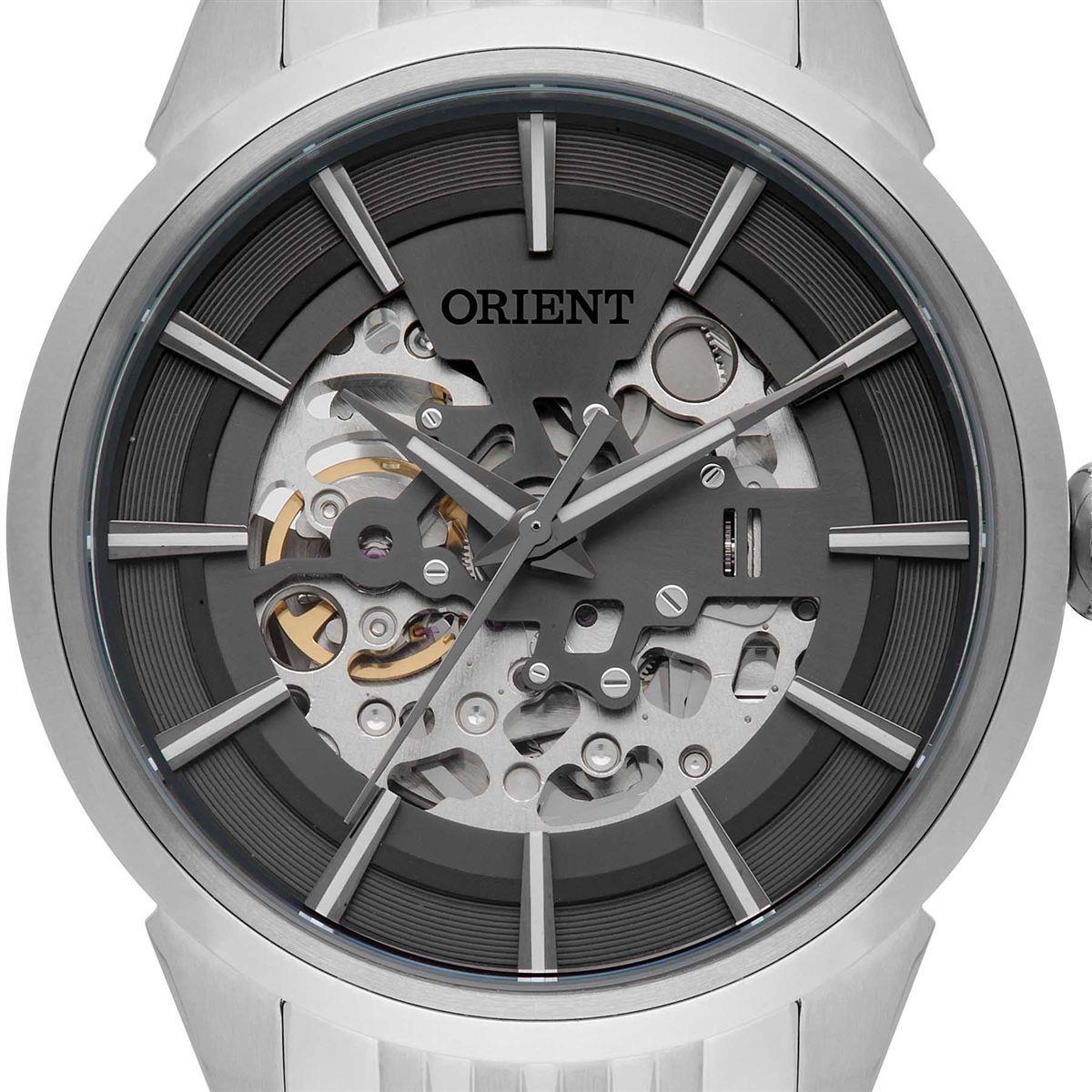 Relógio Orient Automático Masculino NH7SS001 G1SX Esqueleto Produto não  disponível afe97dfe93