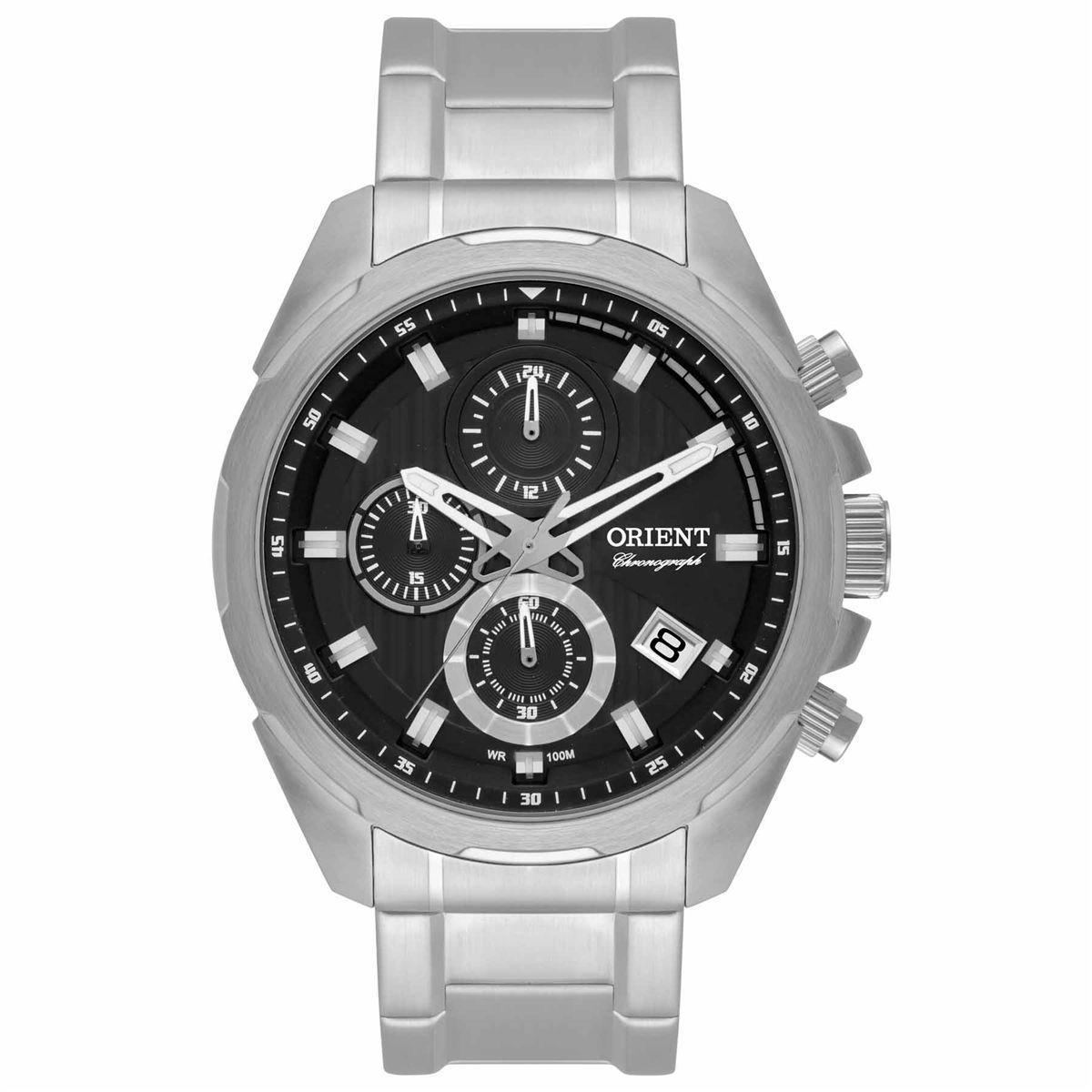 6119a5575d6 Relógio Orient Cronógrafo Analógico Masculino MBSSC153 P1SX Produto não  disponível