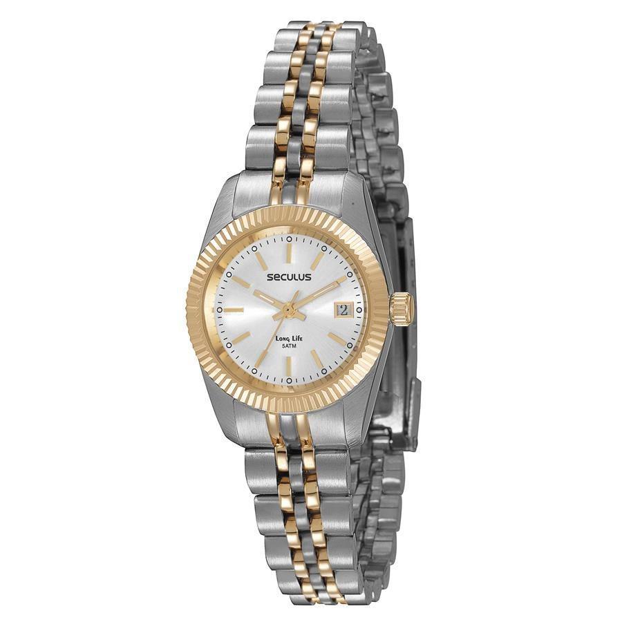 fb4e942546f Relógio Seculus Feminino Long Life Analógico 77025LPSVBA3 - Relógio ...