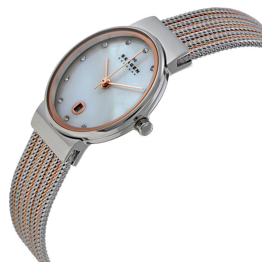84293338cd419 Relógio Skagen Feminino Ref  355ssrs 5kn Slim Bicolor R  689,90 à vista.  Adicionar à sacola