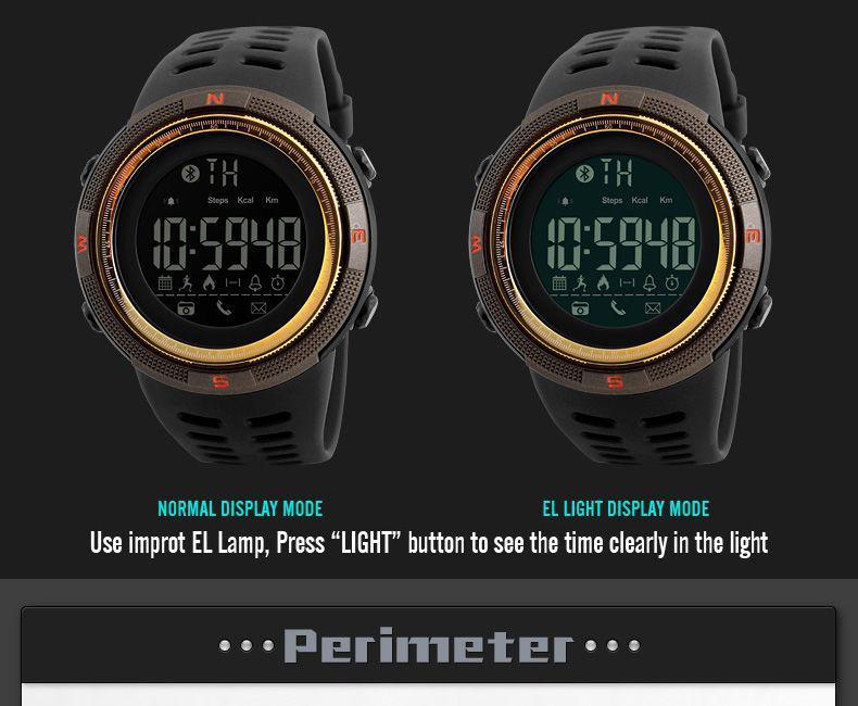 3c3ee75de10 Relógio Skmei 1250 Pedômetro Calorias - Relógios - Magazine Luiza