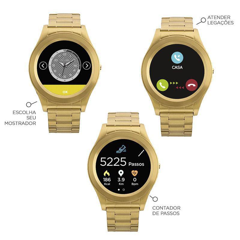 Relógio Smartwatch Technos Connect Unissex SRAE 4P Produto não disponível b4f3b25276
