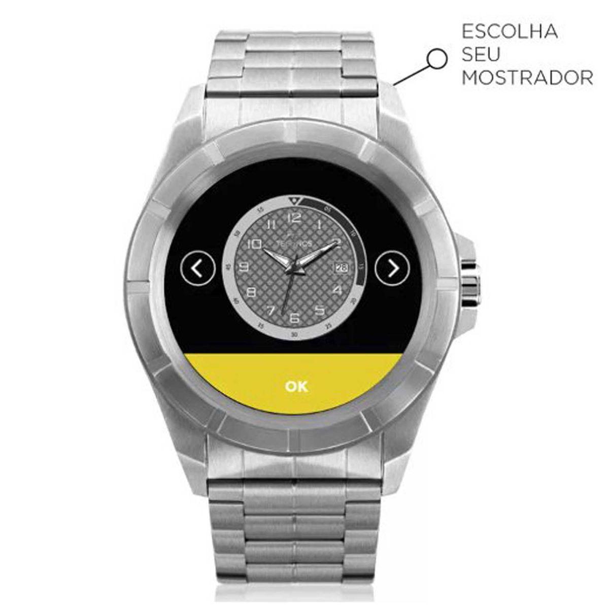 dfea64de3f7aa Relógio Technos Connect Smartwatch Bluetooth SRAA 1P R  1.199,00 à vista.  Adicionar à sacola