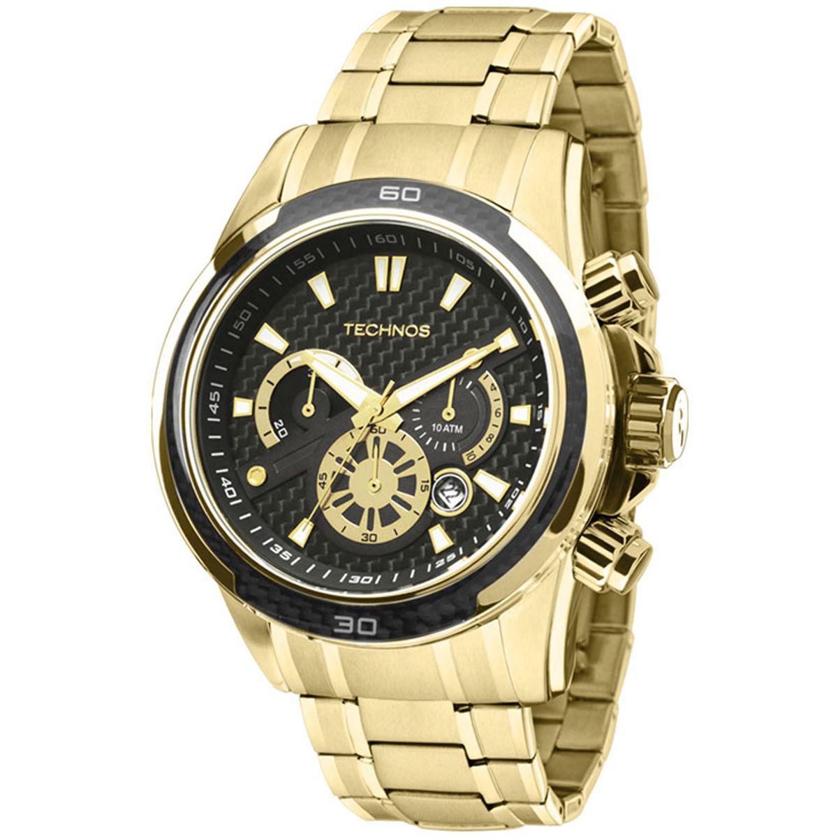 3d0c51fdc9a Relógio Technos Cronógrafo Performance Ts Carbon Analógico Masculino  JS26AA 4P Produto não disponível