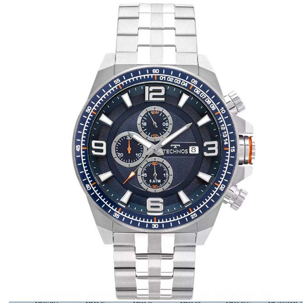 4a1db9855a5 Relógio Technos Cronógrafo Sport Masculino JS15FD 1A Produto não disponível