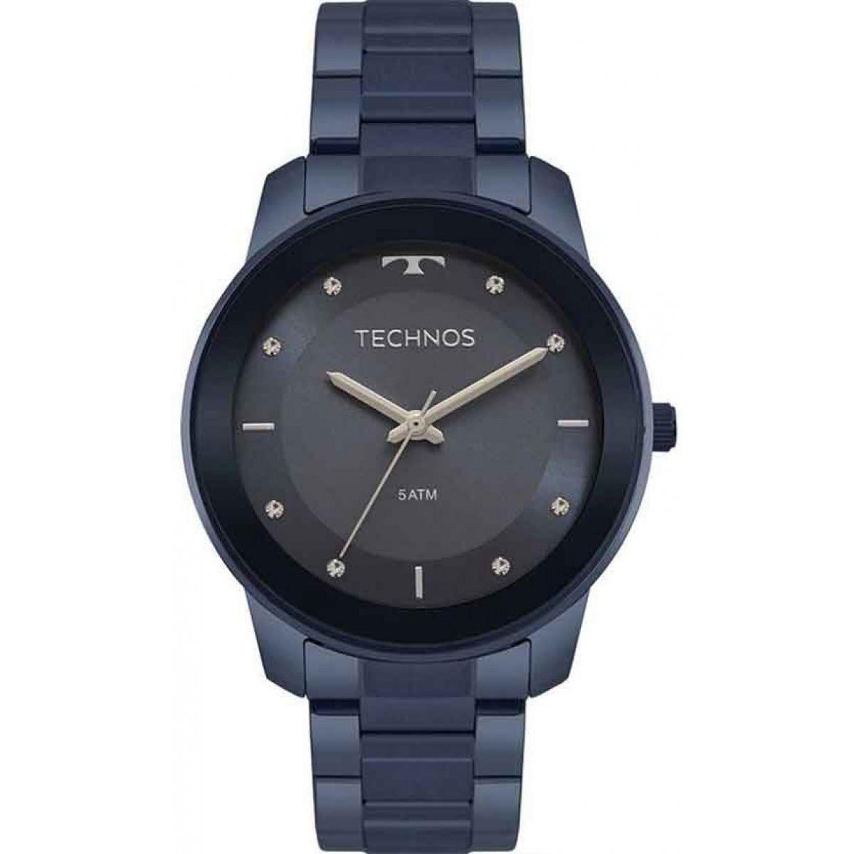 e24c0851205 Relógio Technos Fashion Trend Azul Feminino 2036MKE 4A - Relógio ...