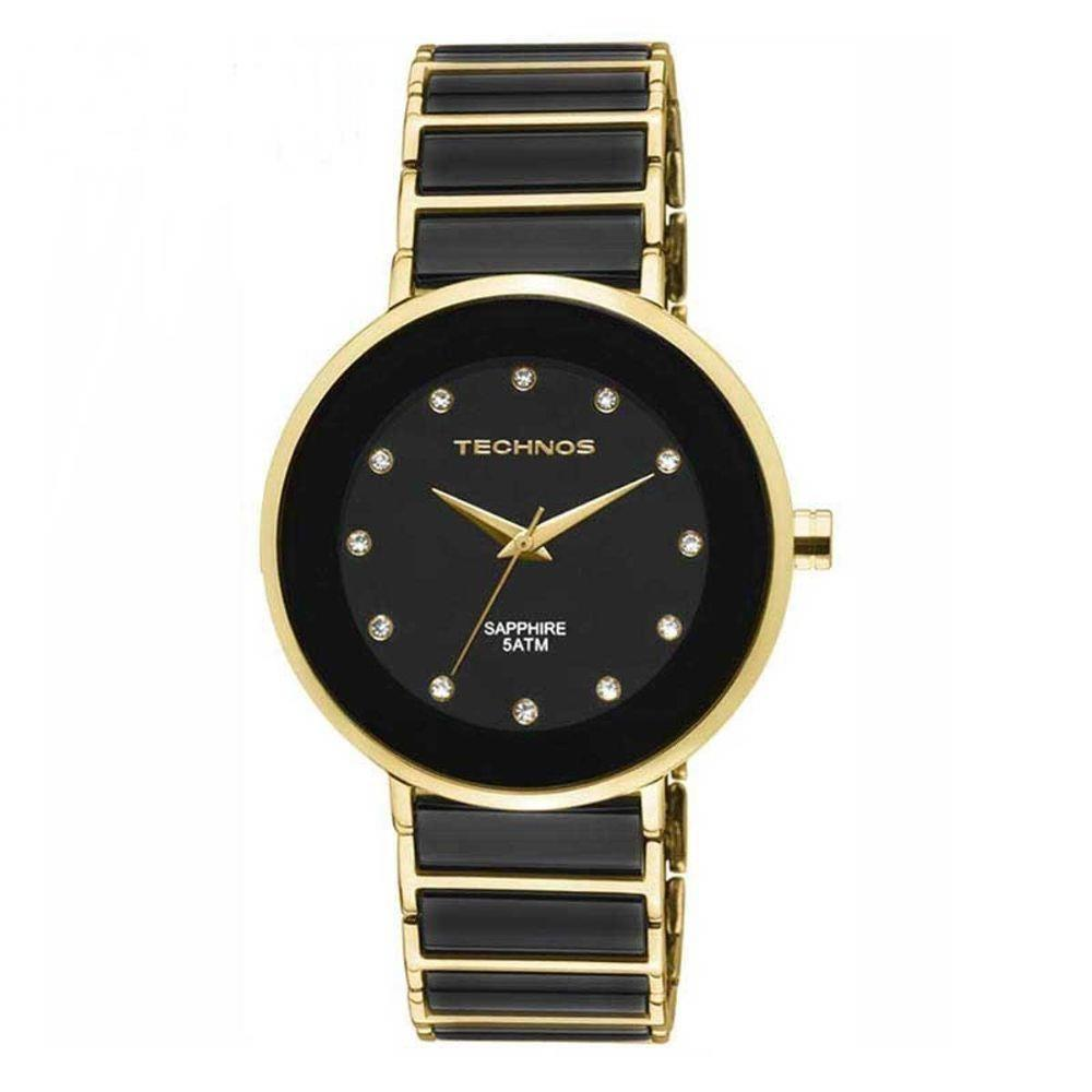 Relógio Technos Feminino Elegance Ceramic Sapphire Analógico 2035LMM 4P  Produto não disponível 54d3d7122a