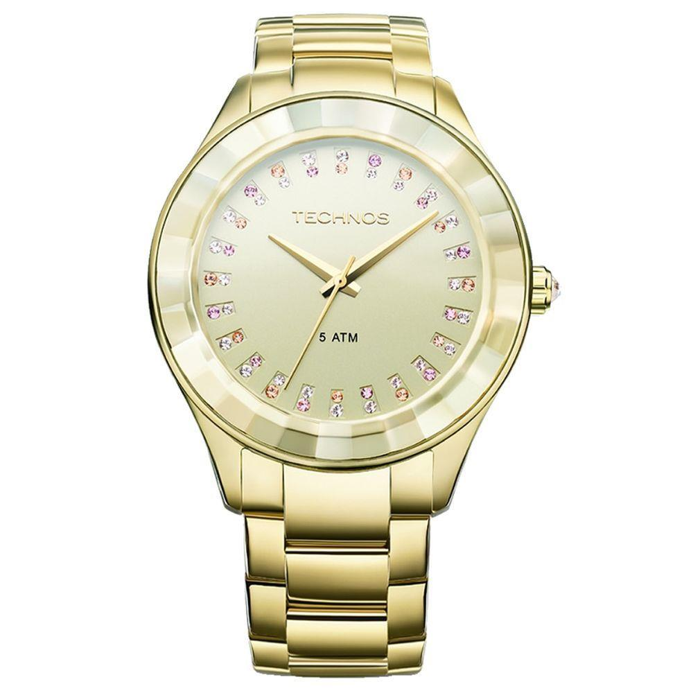 455b619b987d0 Relógio Technos Feminino Elegance Crystal Swarovski Analógico 2035LTV 4X - Relógio  Feminino - Magazine Luiza