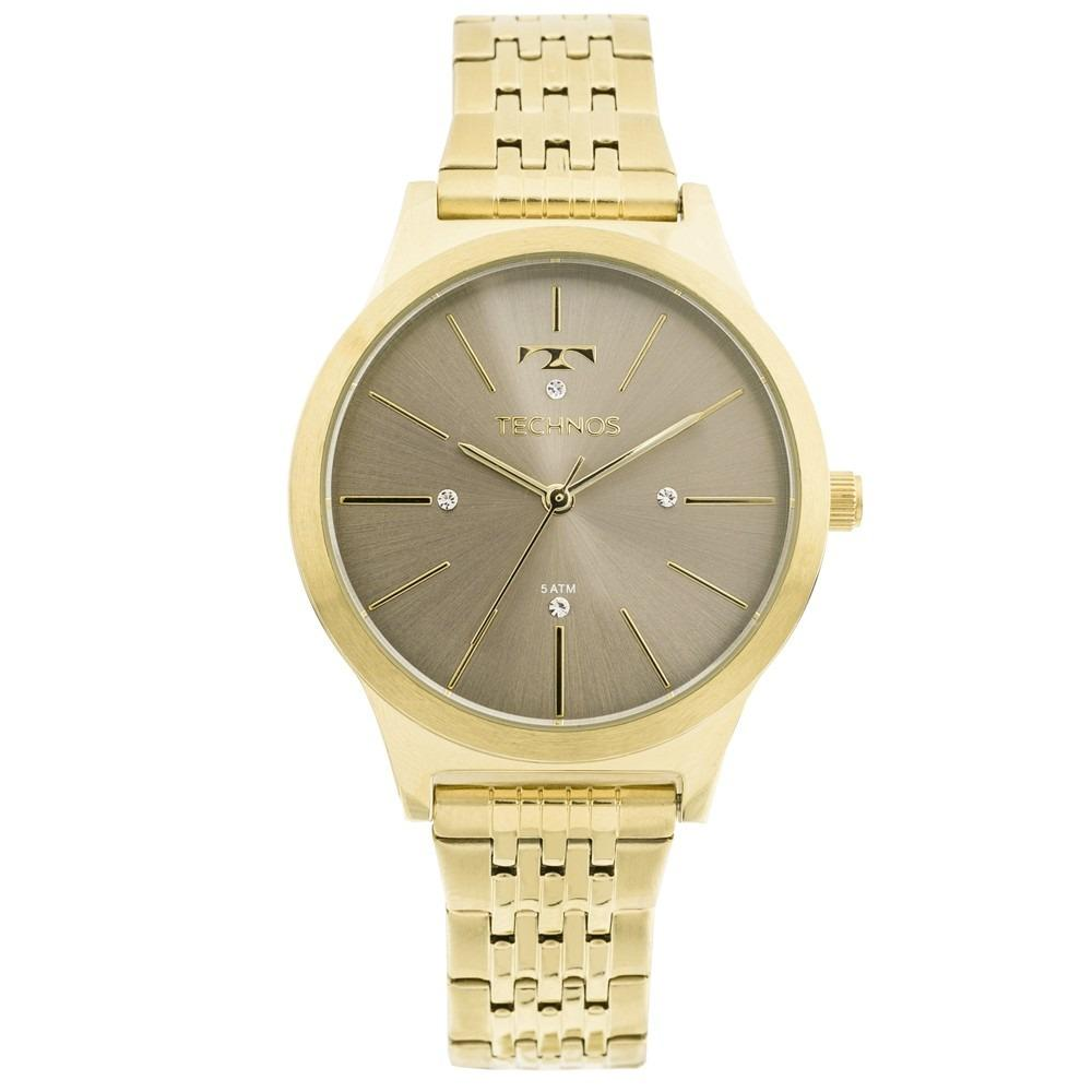 3c4e5741e4704 Relógio Technos Feminino Fashion Trend Analógico 2039BE 4C - Relógio ...