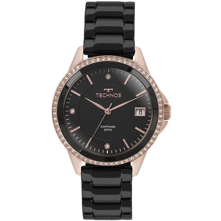 Relógio Technos Feminino Ref  2315kzr 4p Social Rosé R  599,90 à vista.  Adicionar à sacola 5bfef8834b