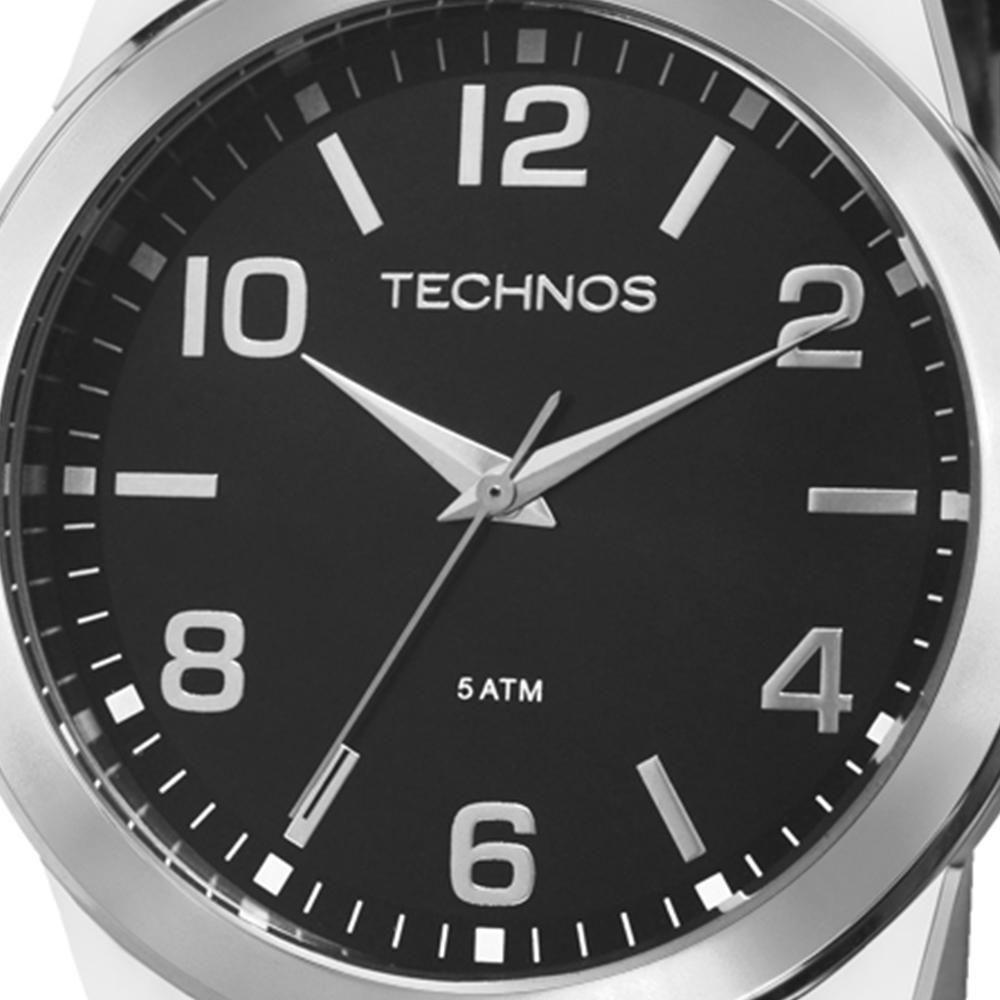 7830662e304 Relógio Technos Masculino Analógico Classic Steel - 2035MDG 0P - Preto  Produto não disponível