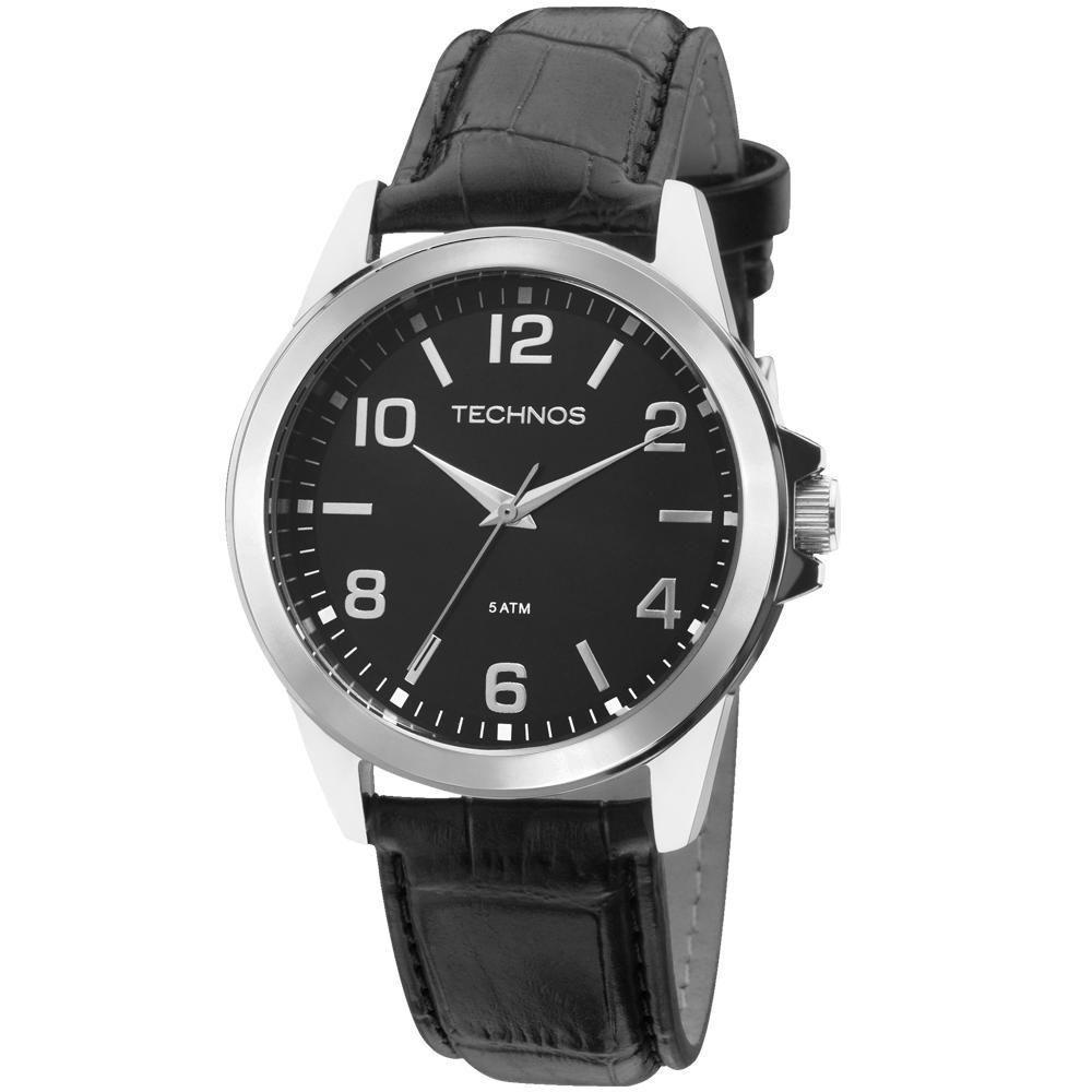 470bec46363 Relógio Technos Masculino Analógico Classic Steel - 2035MDG 0P - Preto Produto  não disponível