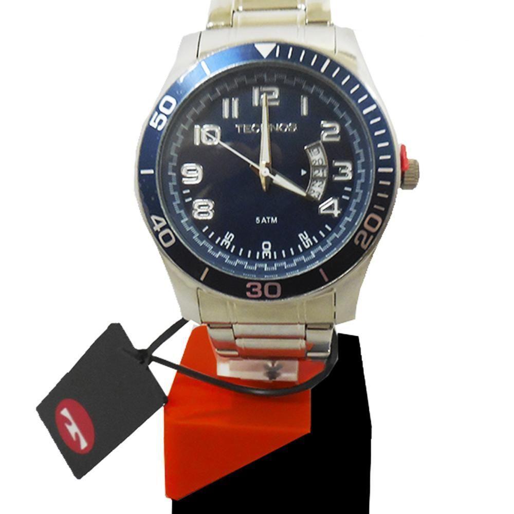 f5e7b87eaa941 Relógio Technos Masculino Analógico Performance 2115KSL 1A - Prata Produto  não disponível