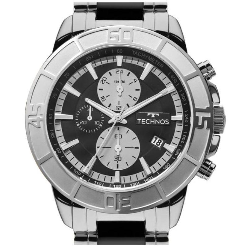 a4197c4793f90 Relógio Technos Masculino Cerâmica Safira JS15EU 1P - Relógio ...
