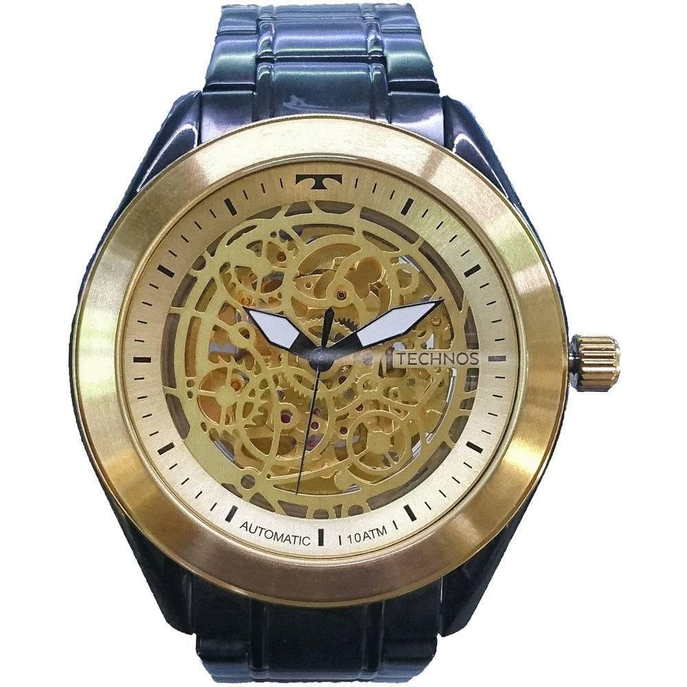 0fabd1f4d17 Relógio Technos Masculino Classic Automatic Esqueleto Analógico 8N24AI 4X R   1.093