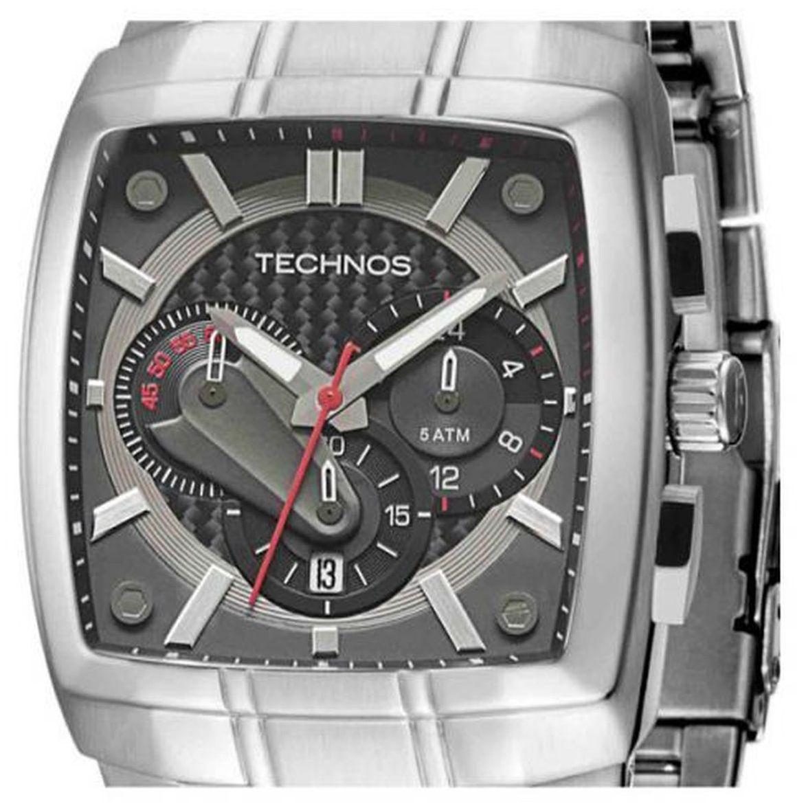 ded569cbd35 Relógio Technos Masculino Performance Os20hw 1l - Prata Produto não  disponível