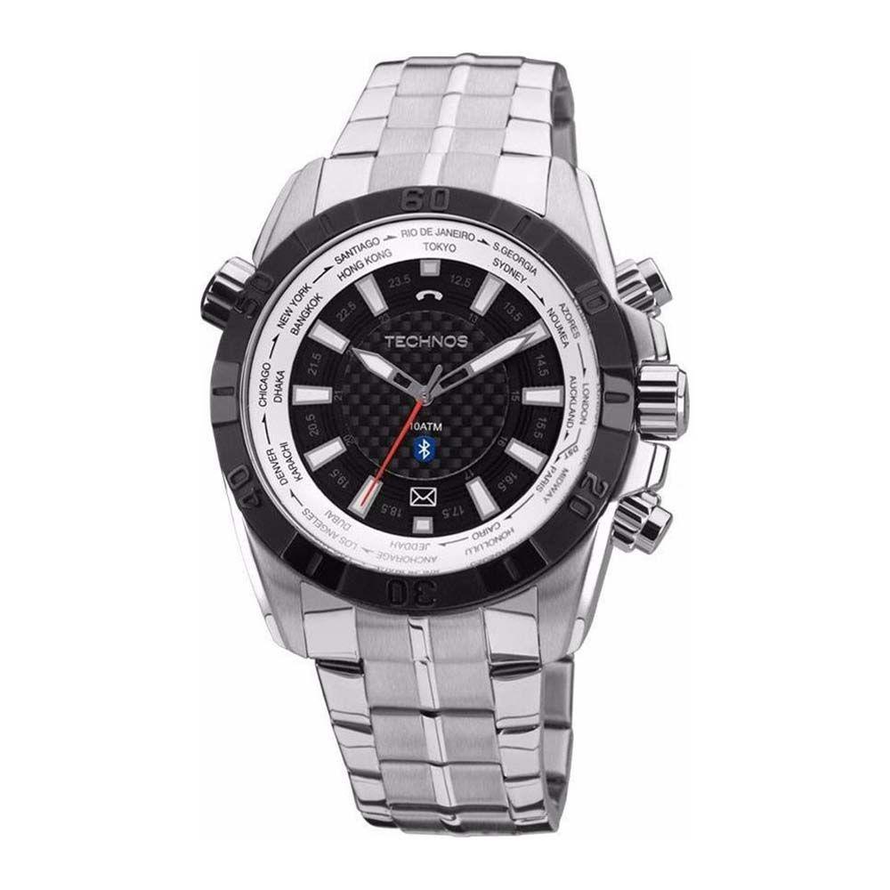 bb48445b21a Relógio Technos Masculino Performance Ts Carbon - 2039ay 1p - Prata Produto  não disponível