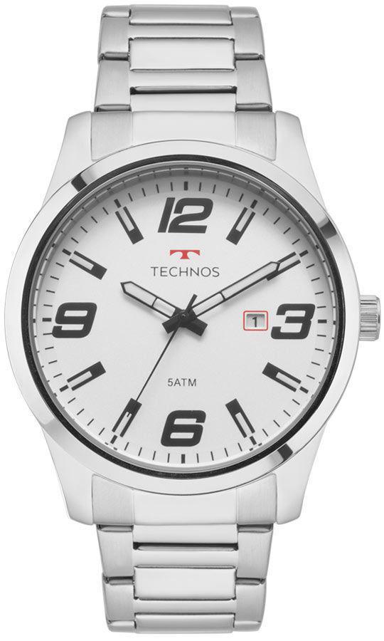 9d5c2866c1b43 Relógio technos masculino racer prata -2115mol 1b R  333,87 à vista.  Adicionar à sacola